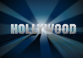 Kostenlose Hollywood Lights Vektor