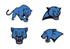 Kostenlose Panthers Vektor