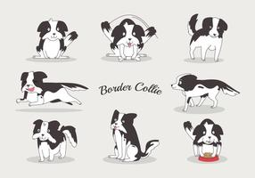 Free Border Collie Vektoren
