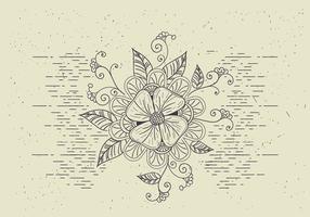 Gratis Vector Flower Illutration