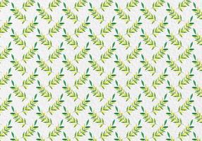 Free Vector Aquarell Blätter Nahtlose Muster