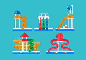 Wasser Slide Vector Pack