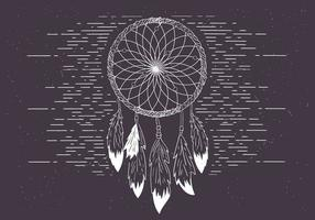 Gratis Vector Dreamcatcher Illustration