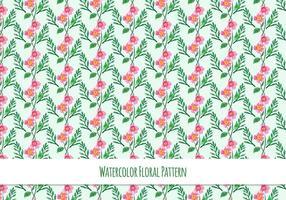 Free Vector Pattern Mit Blumen Thema