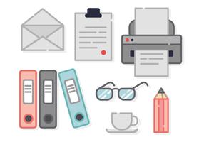 Free Office Elemente Vektor