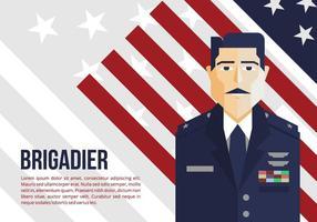 Military Allgemeiner Hintergrund vektor