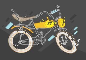 Fri Bicicleta Vector Illustration