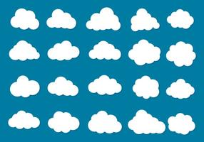 Free Vector Wolken Icon Collection
