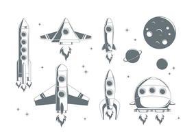 Fri Starship Vektor