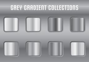 Grey Gradient Kollektionen vektor
