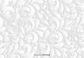 Vector vit Dekorativt bakgrund