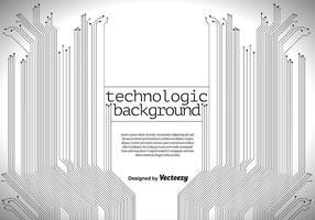 Technologischen Hintergrund - Vektor