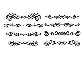 Scrollwork-vektor vektor