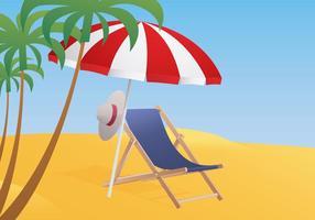 Deck Chair Illustration