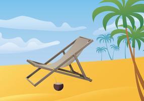Gratis-Illustration Der Deck Chair vektor
