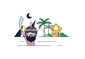 Fri Sultan Vektor