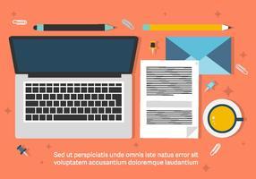 Free Business Workdesk Illustration vektor