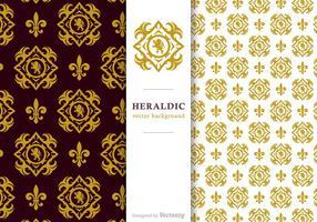 Gratis Vector Heraldic Bakgrund