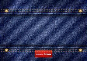 Freie blaue Jean-Vektor-Hintergrund