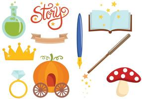 Kostenlose Fairy Tale 2 Vektoren