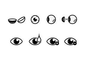 Freie Augen-Vektor-Icons