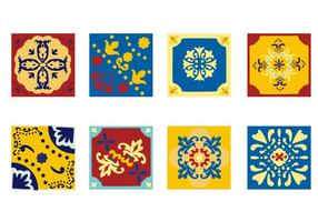 Freie Portugiesisch Tile Azulejo Vector