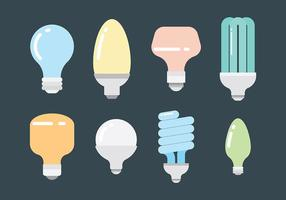 Freie Ampoule Icons Vector
