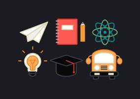 Freie Bildung Elemente Vektor
