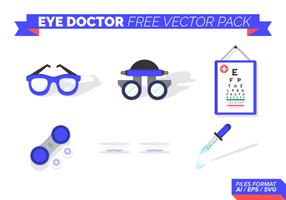 Augenarzt-Free Vector-Pack