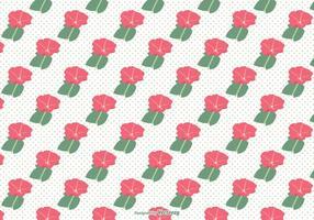 Petunia nahtlose Vektor-Muster vektor