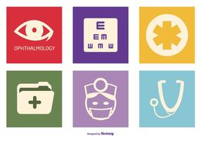 Optometry Vector Icon Collection