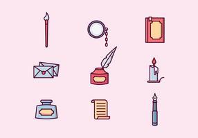 Fri skrivning Vektor