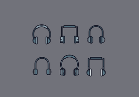 Gratis Head Phone Vector
