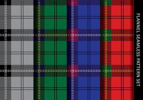 Lässige Flanell-Muster