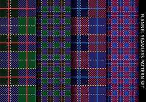 Tartan-Flanell-Muster vektor