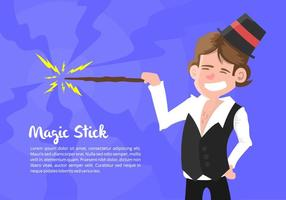 Magician Illustration vektor
