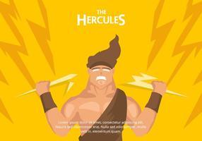 Hercules Hintergrund vektor