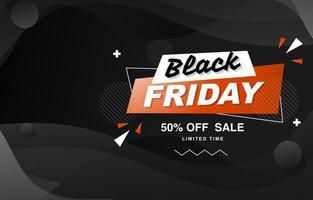 schwarzer Freitag Verkauf Pop Hintergrund