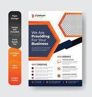 flygblad broschyr layout