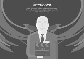 Hitchcock bakgrund vektor