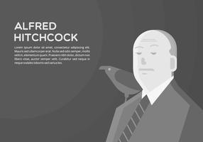 Hitchcock Hintergrund vektor