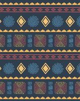 etniska handgjorda. stam upprepande mönster bakgrund