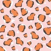 djurhudsmönster. kamouflage fläckar textur design vektor