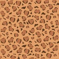leopardmönster design. djungeldjurens hudstruktur vektor