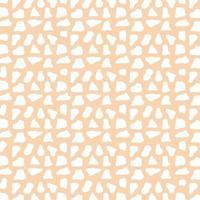 djurhudsmönster. abstrakt vit prickig konsistens vektor