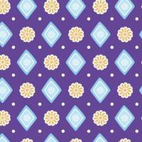 ethnische handgemacht. Blumen geometrischen Dekorationshintergrund