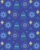 etniska handgjorda. blommig arabesk textil mode bakgrund