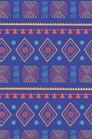 ethnische handgemacht. Stammesmotiv Textur Dekoration Hintergrund vektor