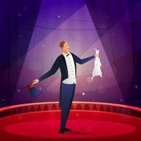 magisk show illusionist