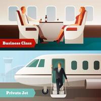 flygplan människor flyg flyga vektor